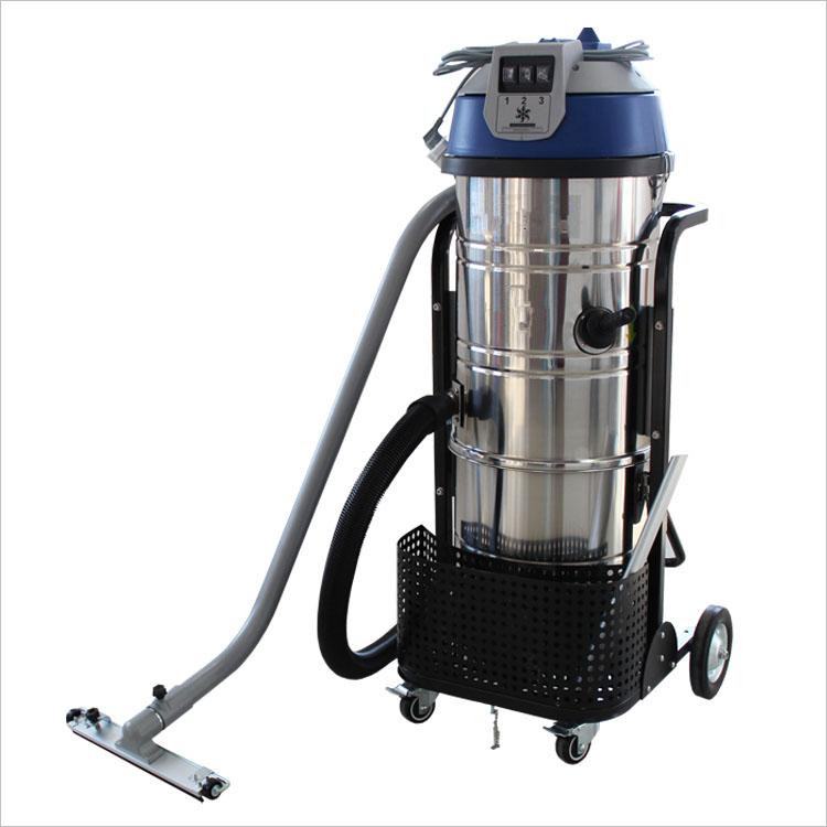 Plastic dust vacuum cleaner