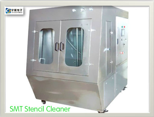 Automated Pneumatic SMT Stencil Cleaner Without Electricity
