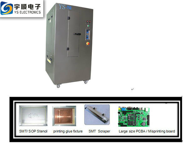 Low Discharge Stencil Cleaning Machine , Stable Pcb Cleaning Equipment