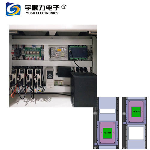 Stand Alone Circuit Board Router Machine , Resolution ±0.01mm
