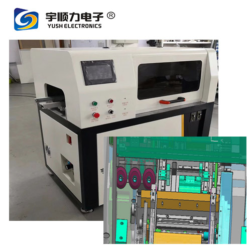 PCB Separator For Automotive Electronics Industry With Two High Speed Steel Blades