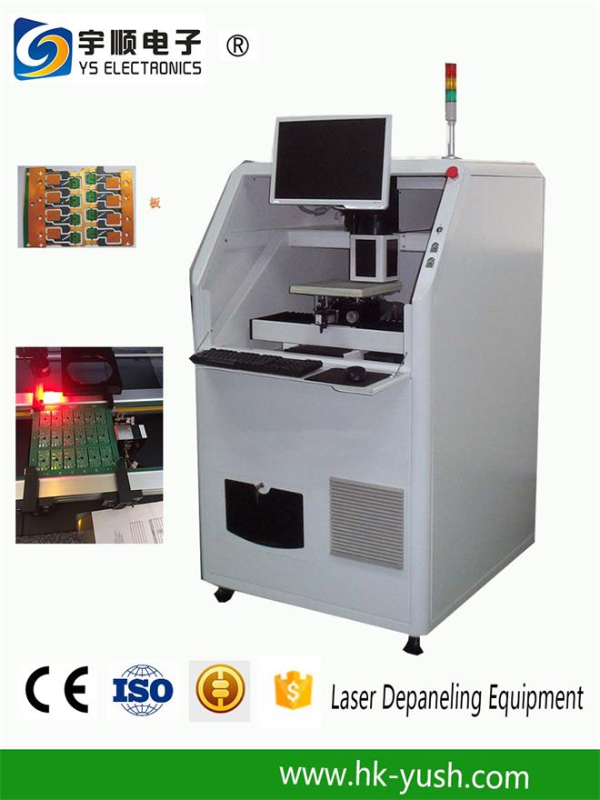 Economic UV Laser Cutting Systems Laser Depaneling Machine without Stress